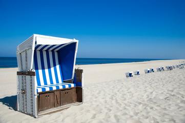 Traumstrand mit Strandkorb