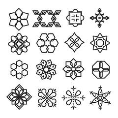 arabic ornament,vector set