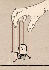 Big hand - puppet
