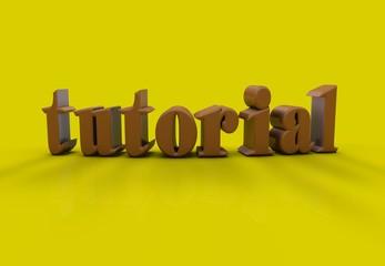Tutorial, 3D Typography