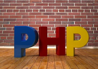PHP, 3D Typography