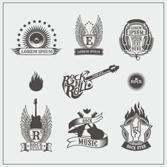 Rock'n'Roll labels.