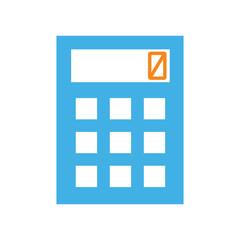 calculator icon on white background