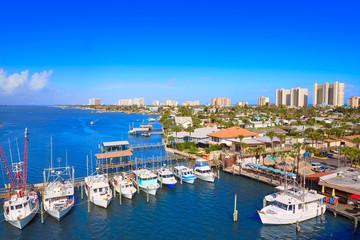 Fototapete - Daytona Beach in Florida from Port Orange US