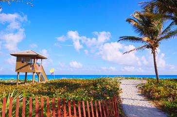 Fototapete - Del Ray Delray beach Florida USA