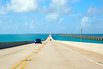 Wall Mural - Florida Keys South Highway 1 scenic Florida US