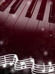 冬のピアノ
