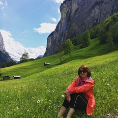 Hiking in Swiss Alps