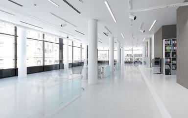 Bürofläche mit Einrichtung (Vision)