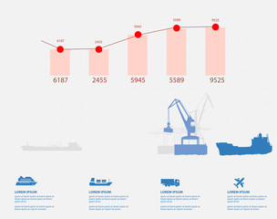 shipping infographics