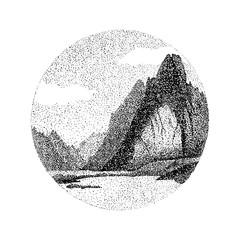 Stipple Fiord