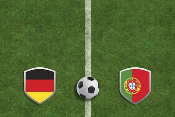 Fußball - Deutschland gegen Portugal