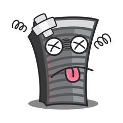 Server under construction,vector illustration