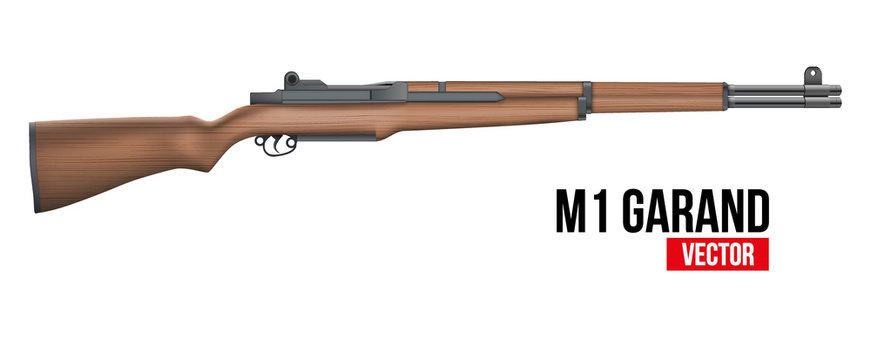 Rifle M1 Garand Vector