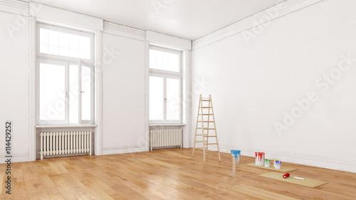 wand einer wohnung bei renovierung stockfotos und lizenzfreie bilder auf bild. Black Bedroom Furniture Sets. Home Design Ideas