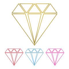 diamond jewelry logo vector eps 3