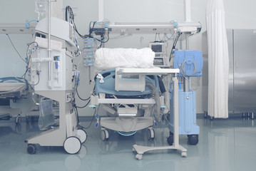 Complex of the modern equipment necessary for patient care