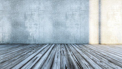 Hardwood room with empty space