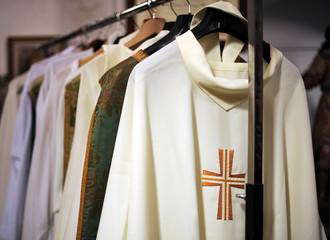 Casullas, vestimenta sacerdotal