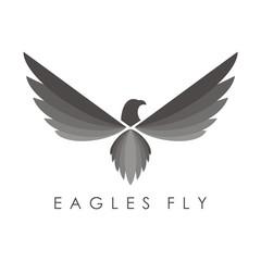 Eagle Logo, Eagle Vector, Wing Eagle