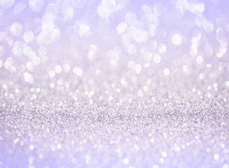 silver purple glitter bokeh texture background