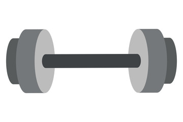 simple barbell icon
