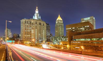 Fotobehang Las Vegas New York near Brooklyn bridge