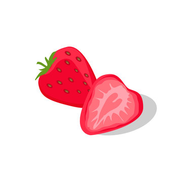 Delicious and Juicy Stawberry