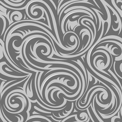 Floral seamless ornament