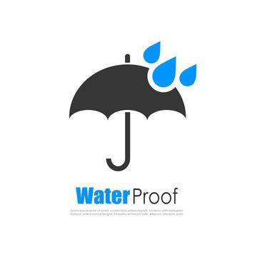 Water proof logo