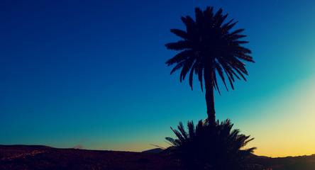 Palma at sunset, Canary Islands