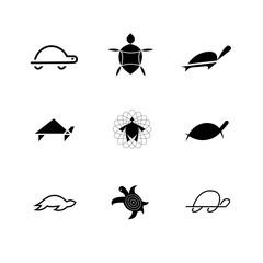 Tortoise Logo Set