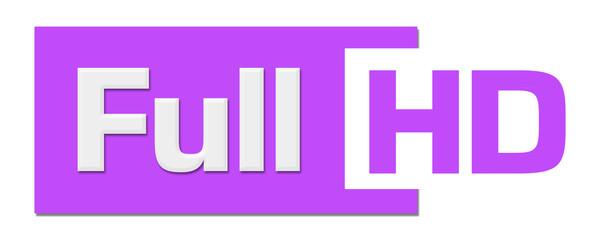 Full HD Purple Horizontal Stripe