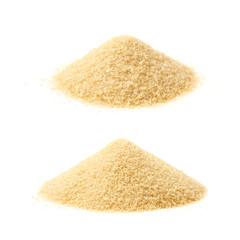 Pile of stevia cane sugar