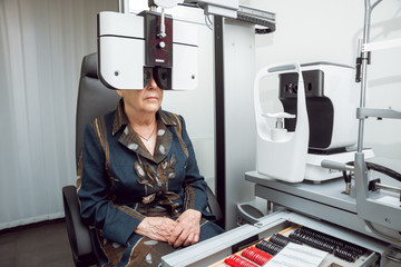 Consultation with an ophthalmologist.