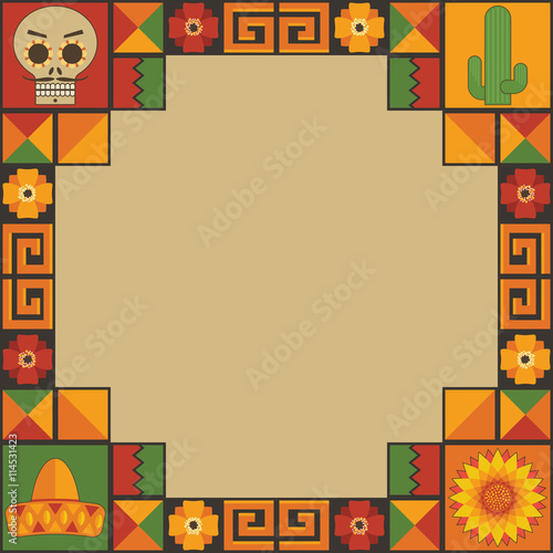 mexican frame decoration - Mexican Frame