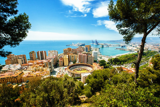 Malaga in Andalusia, Spain