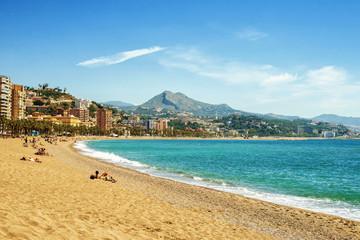 Beach La Malagueta, Malaga