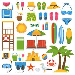 Summer Beach Item Set