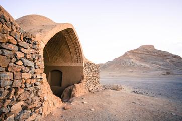 Zoroastrian Towers of Silence in Yazd, Iran