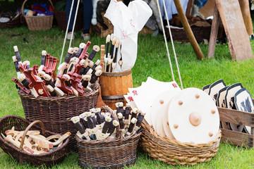 Gegenstände aus dem Mittelalter Ritterzeit
