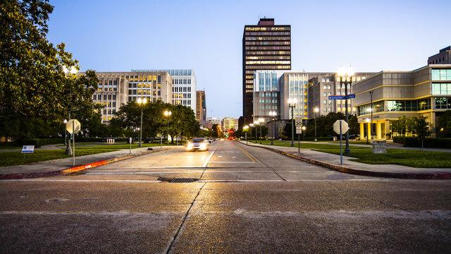 Downtown Baton Rouge, Louisiana Skyline