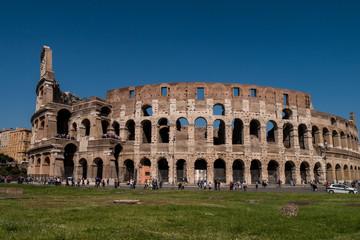 Außenansicht des Kolosseum in Rom