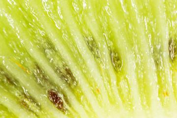 juicy kiwi as background. macro