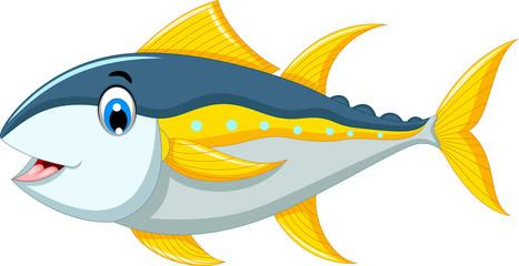 cute tuna fish cartoon