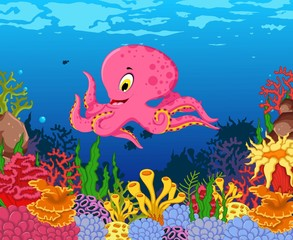 coloring book of beautiful coral collection