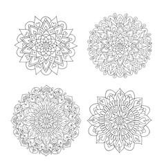 Mandala set, colorful pattern for your design