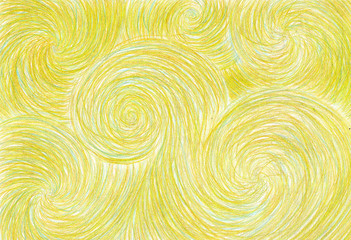 pencil background waves yellow