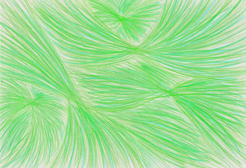 pencil background plastic line green