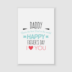 father day label
